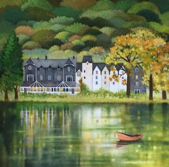 Sunita Khedekar - Lake District Lakeside View