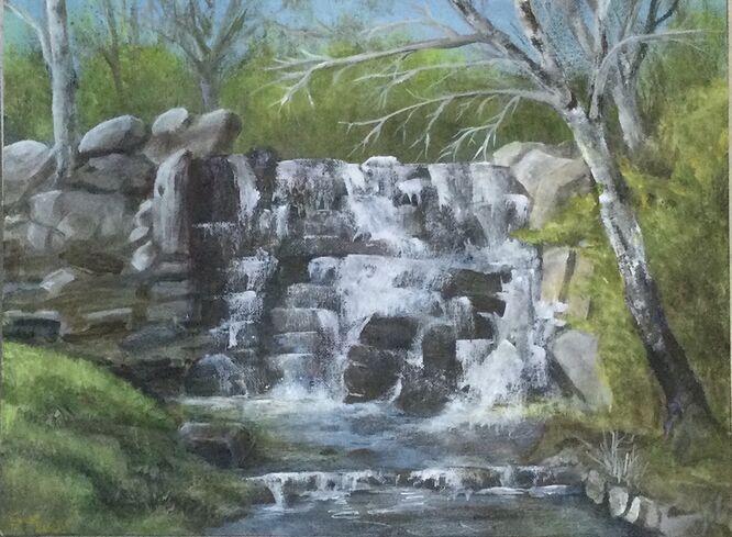 The Cascade, Virginia Water - Sue Hinton