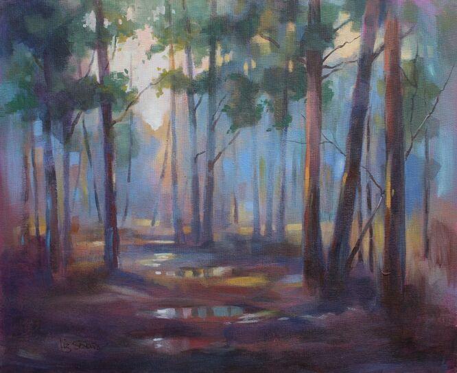 Turfhill Puddles - Liz Seward SWA