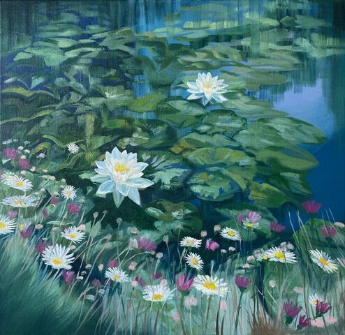 Lilies and Wild Flowers - Hannah Bruce