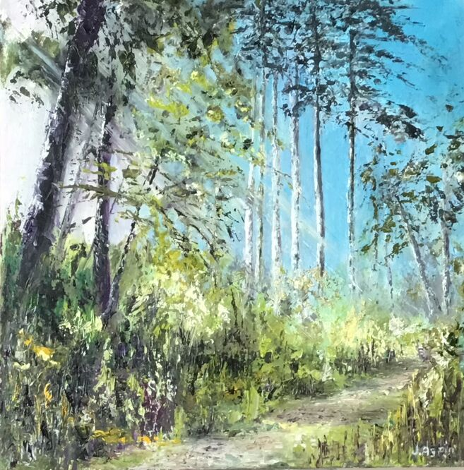 Morning Walk - Julia Aspin