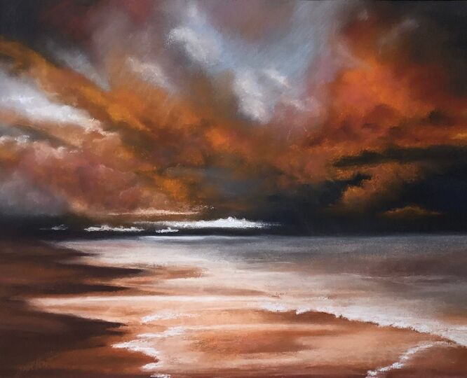 Approaching Storm - Julia Aspin