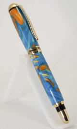 Gold Plated Sedona Rollerball Pen in Acrylic SOLD