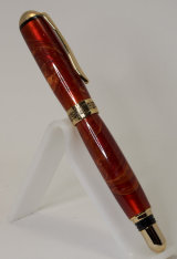 Gold Plated Sedona Fountain Pen in Tru-Stone SOLD