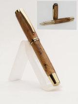 Titanium Gold Plated Rollerball Gentlemen's Pen