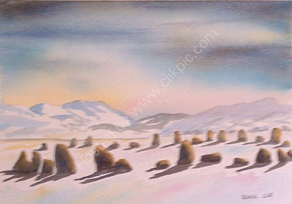 Snowy Castlerigg