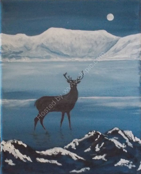 Helvellyn Stag Knight