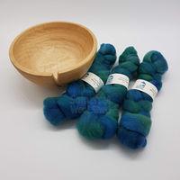 Merino Mini Tops - Blue, Green