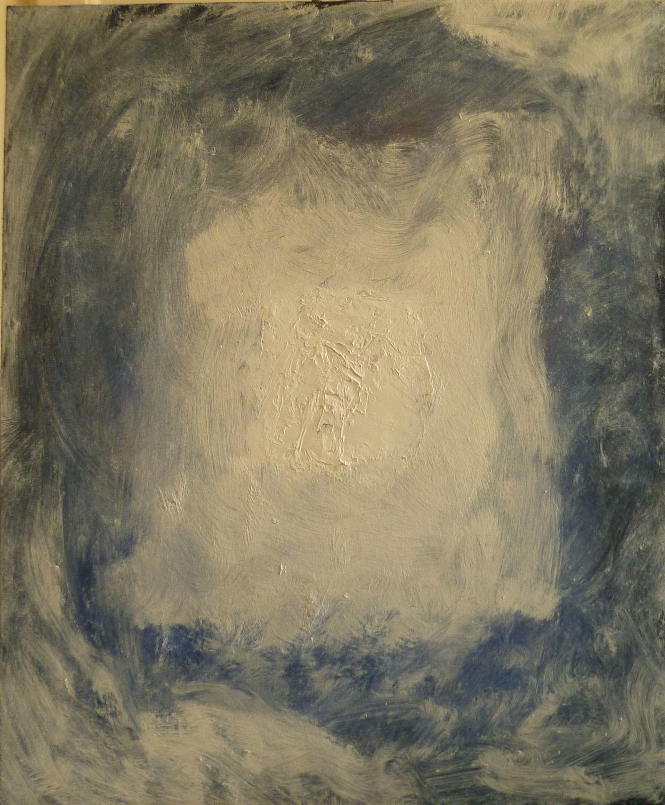 Emerging 18. 50x60x1.8cm (oil on canvas)