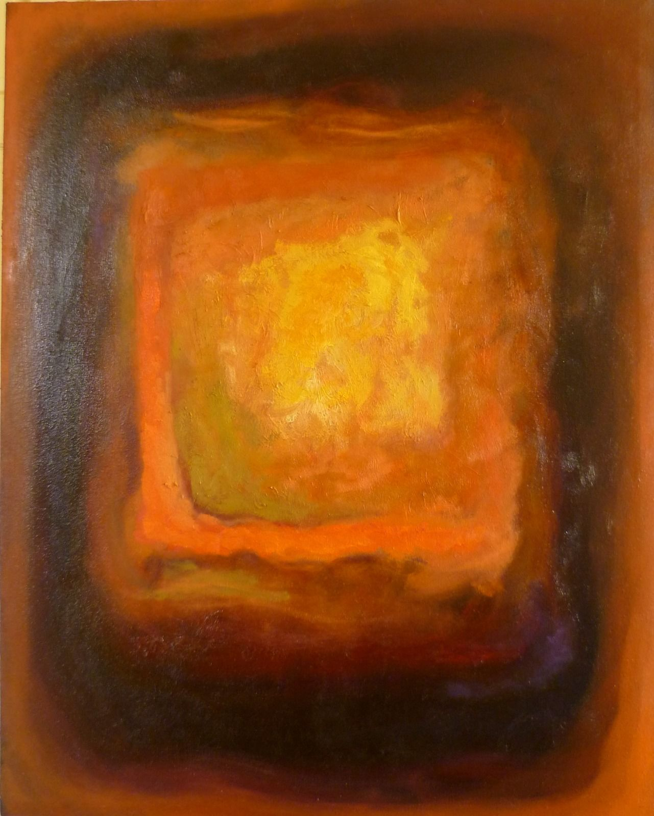 Emerging 7. 67x85x1.8cm (oil on canvas)