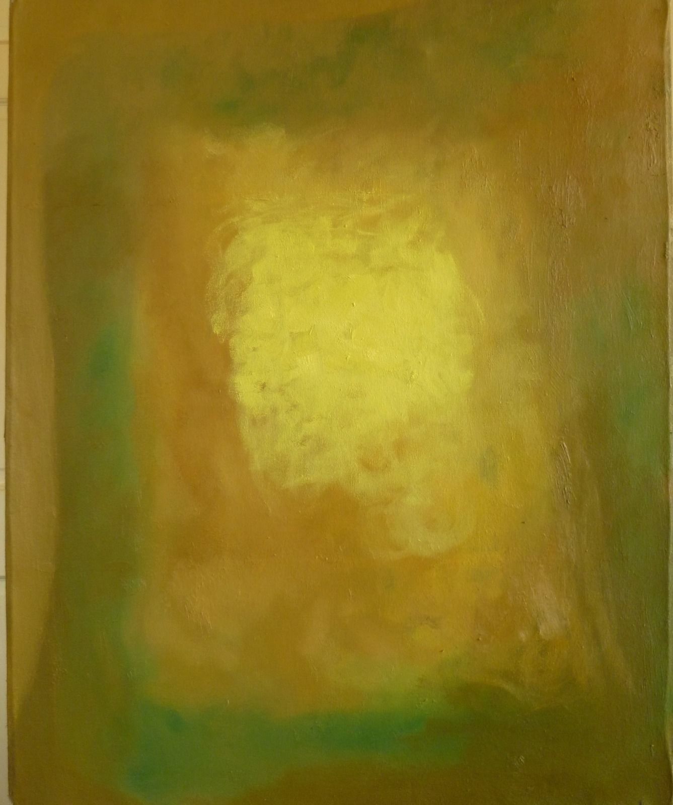 Emerging 9. 62x77x1.8cm (oil on canvas)