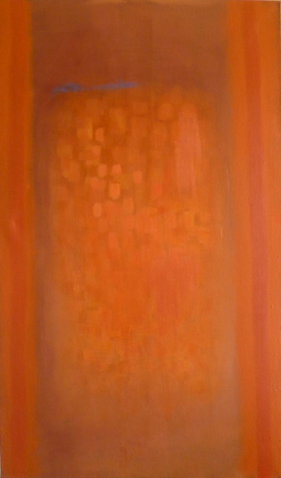 Rising 1. 56x94x1.8cm (oil on canvas)