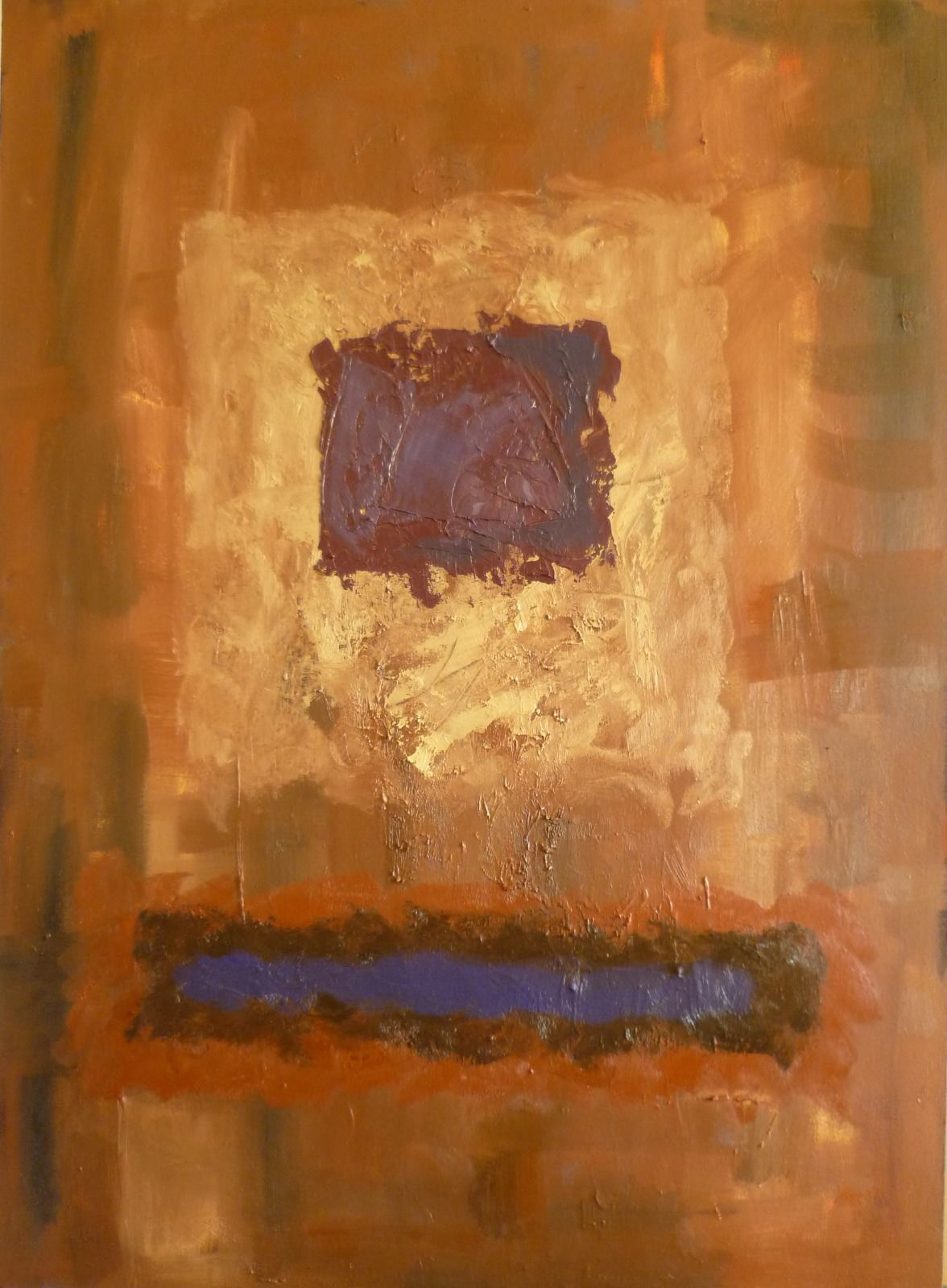 Worlds 1. 80x110x4.5cm (oil on canvas)