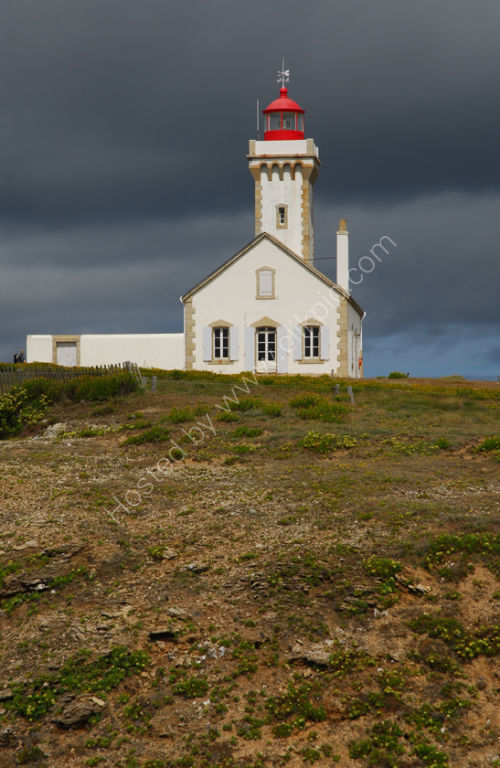Brittany - Belle Ile - Ile des Poulains - Lighthouse