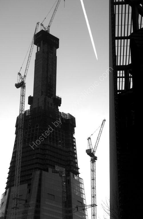 London: Shard under construction