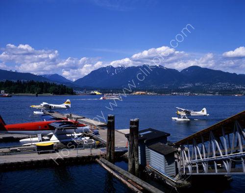 Vancouver Harbour:<br> Seaplane Base