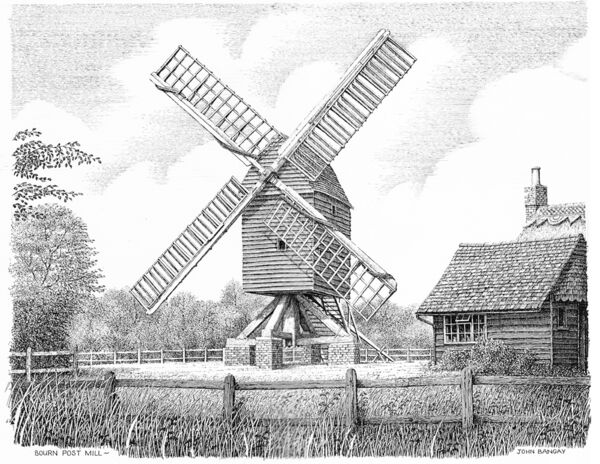 Bourn Post Mill, Cambridgeshire