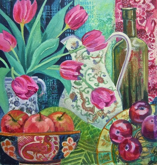 Apples and Tulips