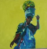 Judy Merriman.  'Hallimatu our Gambian Fruit Lady'