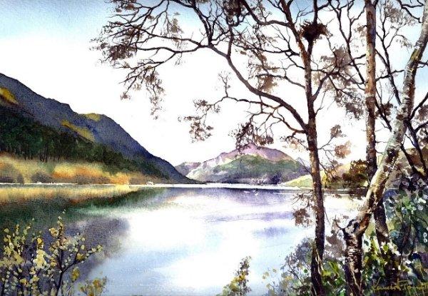 Loch Lubnaig Perthshire