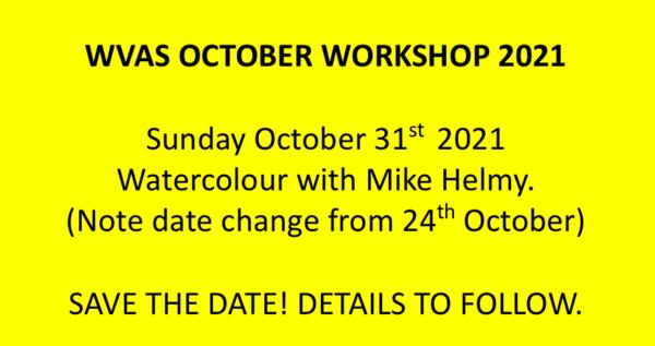 October 2021 Workshop