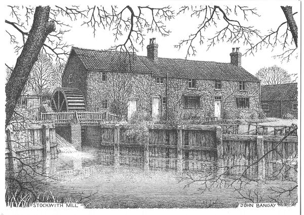 Stockwith (Tennyson's) Watermill