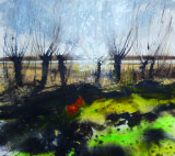 "Philip Dawson. ""Stunted Willows"""