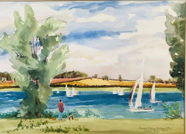 Summer Sailing, Rutland Water