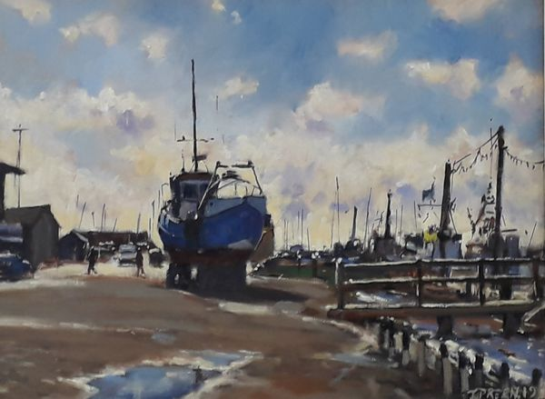 Bright Morning, Southwold Harbour