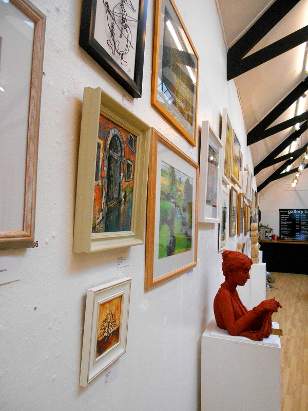 The society holds biannual exhibitions
