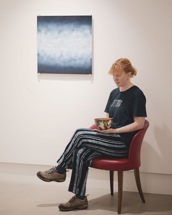 A Portrait of Susan with Plate & Vessel