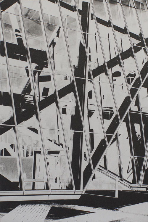 Abstract Theatre - Polymer Photogravure Print
