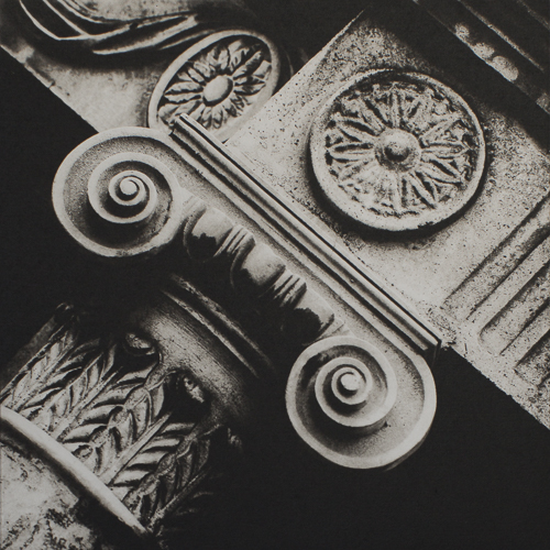 Capital Square - Polymer Photogravure Print