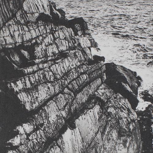 Cill Rialaig Cliffs - Polymer Photogravure Print