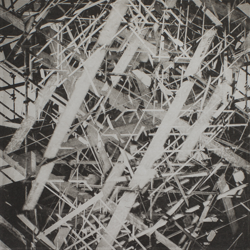 Constructed Abstract - Polymer Photogravure Print