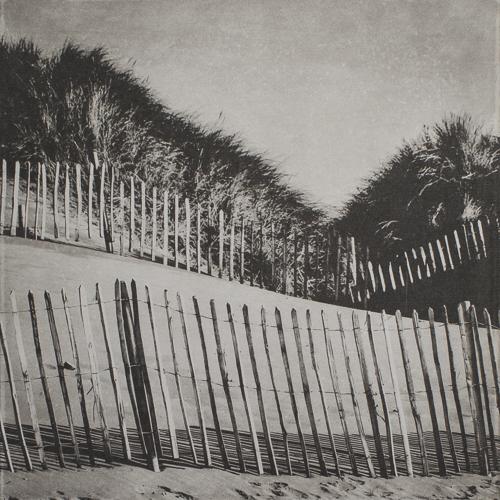 Fence I - Strandhill - Polymer Photogravure Print