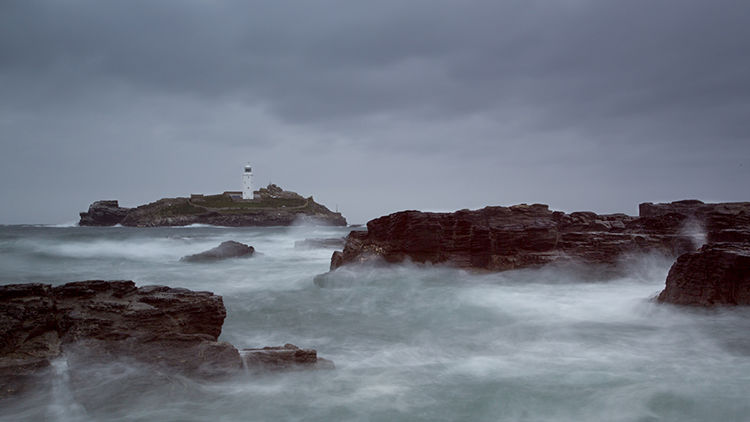 Lighthouse in a Squall - Archival Pigment Print