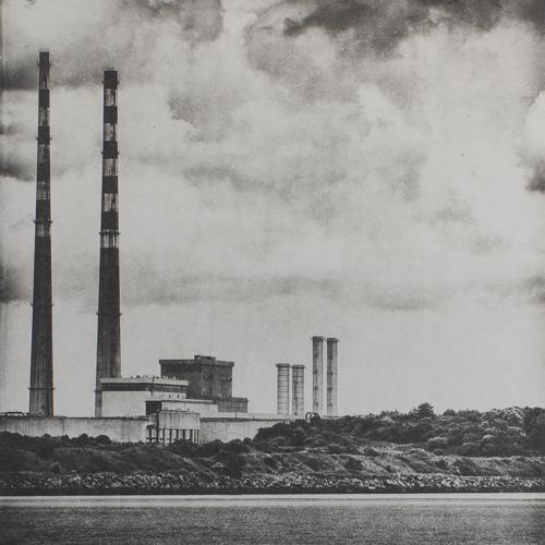Poolbeg Skyline - Polymer Photogravure Print