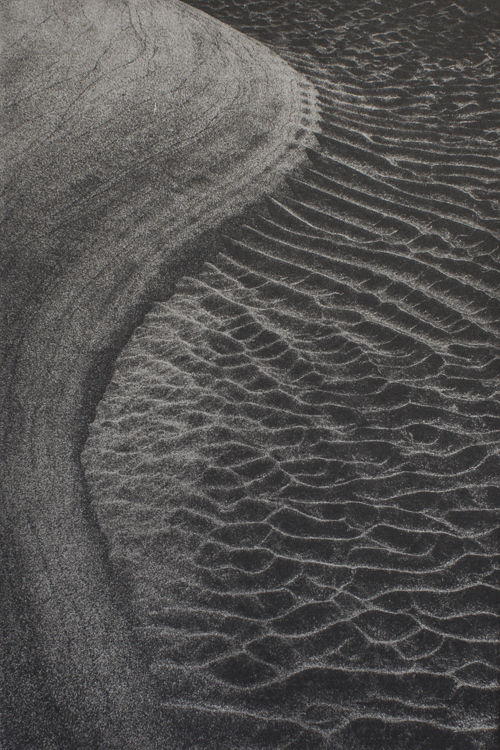 Sand Currents - Polymer Photogravure Print