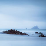 skelligs in blue
