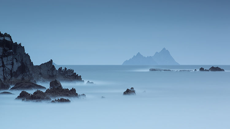 skelligs in blue II