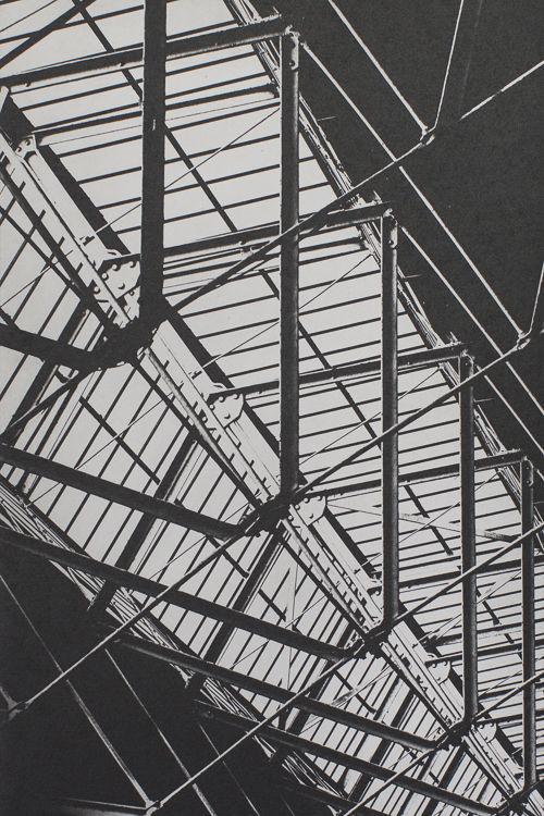 Spitalfield Rafters - Polymer Photogravure Print