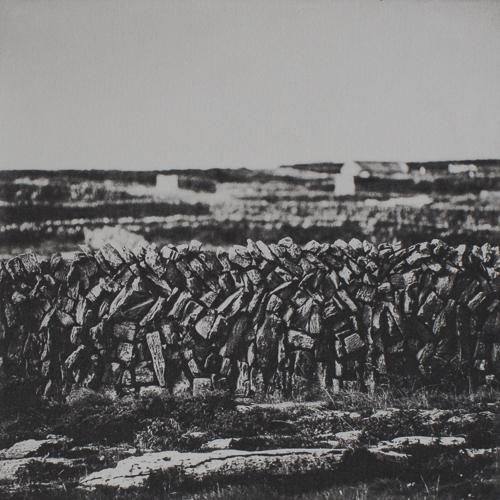 Stone Wall II - Polymer Photogravure Print