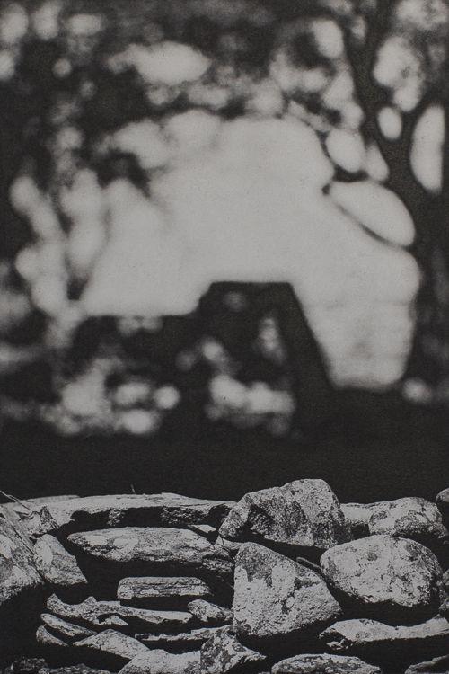 Stone Wall I - Polymer Photogravure Print
