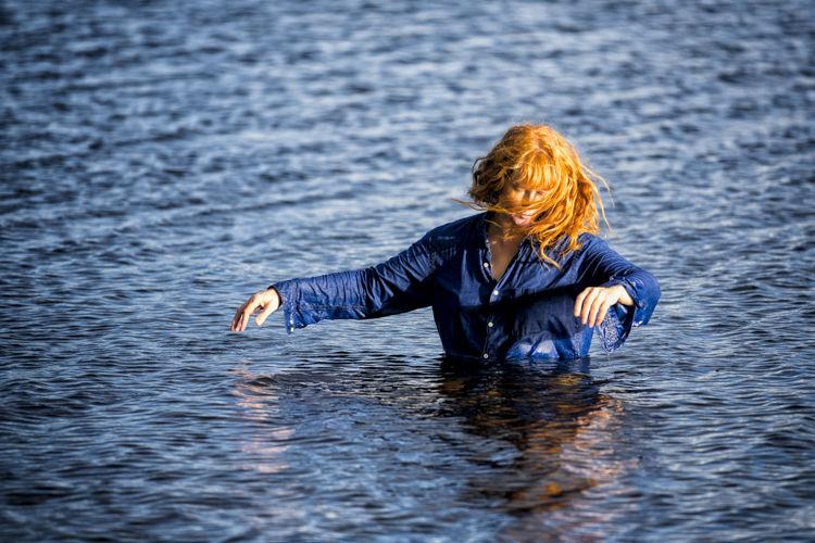 Susan @ Annaghmakerrig Lake