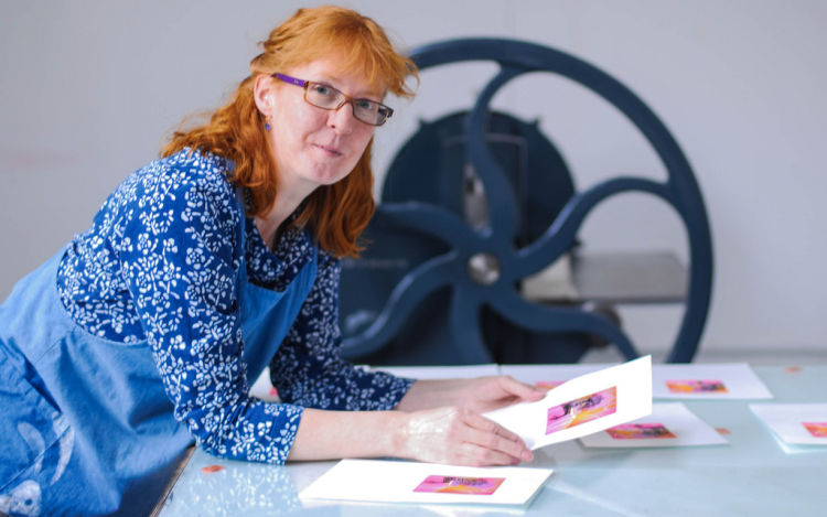 Susan @ the Tyrone Guthrie Centre