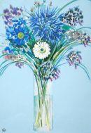 Flowers- watercolours