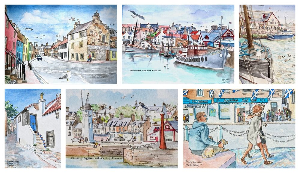 Anstruther cards