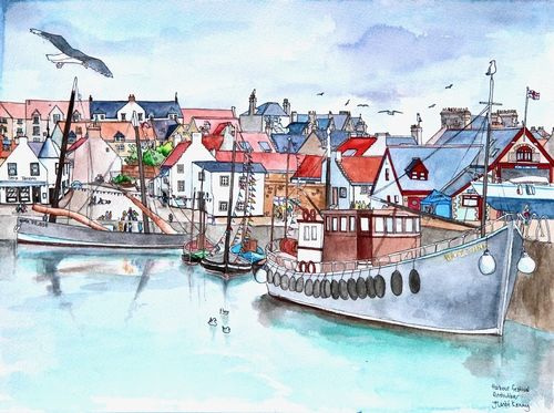 Print 'Anstruther Harbour Festival'... £45