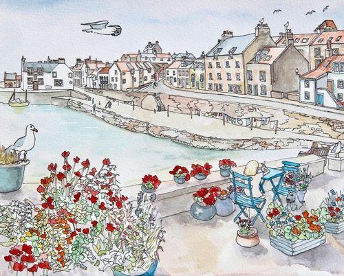 Print 'Cellardyke Harbour'... £29